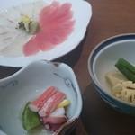 お食事処 彩海 - 料理写真:鯛・まぐろ丼1,500円