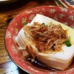 琉球居酒屋 あぱら樹 - ジーマミー豆腐