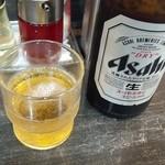 らーめん花の華 - 瓶ビール
