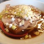 特濃中華蕎麦 いわし - 肉まるにぼじ 750円