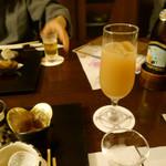 31038915 - 旬の白桃ジュース