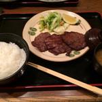 和食 うどんや - 牛タン定食