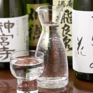 ◇希少酒多数◇秋田で生まれた日本酒が豊富です◎