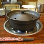 31040475 -  しゃぶしゃぶ用の鍋です。