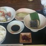 旬の味・和 - 昼定食(1000円+税)