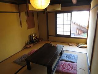 珈琲工房てらまち - 二階には和室の座敷席もあります。