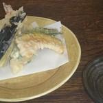 旬の味・和 - 昼定食(1000円+税)の天ぷら