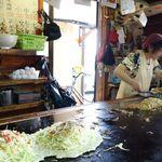 ジャンボお好み焼き みゆき - みゆきモダン2種(ソバ・うどん)みゆき 平福店 2014/9/28