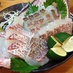 シャンシャン茶屋 - 2014/09・真鯛