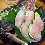 シャンシャン茶屋 - 2014/09・石鯛