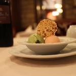 炭焼ステーキハウス 葡萄屋 - デザート