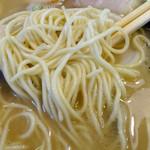 まるいち - 「チャーシュー麺」ストレート細麺(カタ)