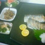 めしや - タチ魚塩焼き定食