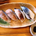 らーめん道楽 - さばずしセット810円 しめサバで鯖味フレッシュ