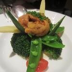 ビストロ カトリ - ・「利尻産生うに旬野菜(\1680)」