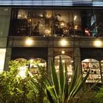 ジンナンカフェ - 夜のテラスからの眺め