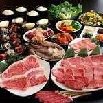大阪焼肉 鶴橋 牛一 - 特上牛一和牛宴会コース