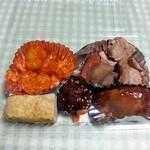 菜樹亭 - お惣菜1