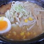 ぶたいち - 味噌野菜ラーメン 920円 2014.9