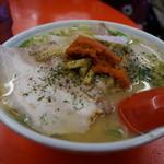 赤湯ラーメン 龍上海 - からみそチャーシューメン(並)・・イマイチ違いが分からない