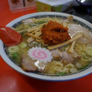 赤湯ラーメン 龍上海 - 料理写真:からみそチャーシューメン(大盛)
