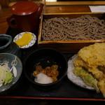 そば処 一庵 - 板蕎麦(冷)