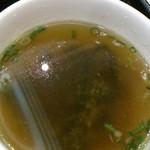 31057173 - 「やらまいか丼」(1,080円)のスープ