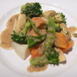 31057898 - コロコロ野菜のバーニャカウダソース