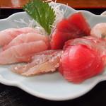 31057975 - 地魚刺身定食