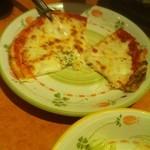 31058402 - ダブルチーズ(チーズ増量)にしたピザ