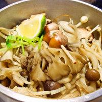 鎌倉釜飯 かまかま - きのこ