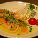 喰心-meat Dining- - 地鶏のカルパッチョ