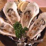 蘭丸亭 - 生牡蠣。1個から頼めます。