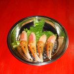 風雲火鍋城 - カニ爪。一口サイズの食べやすさ。