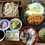 伊藤屋 - 料理写真:殿ランチ864円(おそばと定食付き)