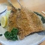 魚佐 - アジフライ。
