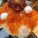 大阪浪花家 - 縁は「みたらし風味」のかき氷
