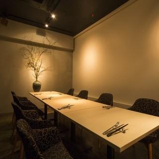個室は、最大8名様までご利用可能です。