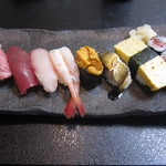 よろい寿司 - 料理写真:寿司。