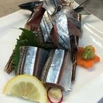 太陽と月 - 秋刀魚刺身
