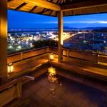 琵琶湖畔 おごと温泉 湯元館 - ■月心の湯■~最上階♪絶景の露天風呂~