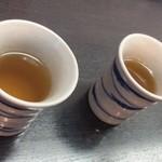 手打ちそば わか竹 - そば茶