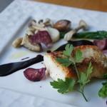 ルセット - 男鹿鯛のポアレ赤ワインソース(ランチ)
