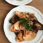 ルセット - 新鮮な貝が入荷した日限定メニュー 貝のペスカトーレ