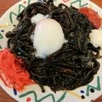 番屋亭 - 糸魚川ブラック焼きそば 650円
