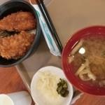 番屋亭 - タレかつ丼 870円