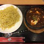 31069561 - 「石焼麻婆豆腐つけ麺」750円