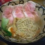 ラーメン こぶ志 - 塩系・特選こぶ志ラーメン(麺はこんな感じ)
