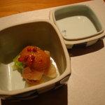 二戀 - 北寄貝とくわい 酢味噌和え