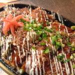 タイラ - 豚平ら焼き…玉子2玉・万能ねぎ100g・カツオ節を豚ロース肉で覆った鉄板焼きです。